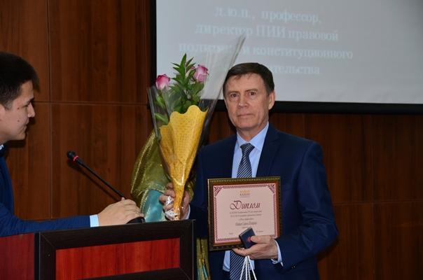 «Профессор года» удостоен Ударцев Сергей Федорович